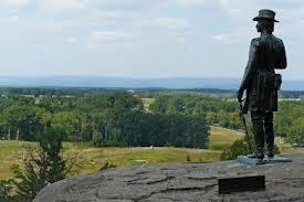 Brigadier General Gouverneur Warren at Lttle Round Top